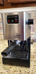 Gaggia Classic Brushed Stainless Steel Semi-Automatic Espresso Machine ~ SIN035