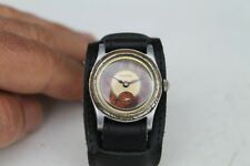 Antique Vintage Old Swiss Made Etahche Army Men's Wrist Watch