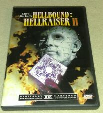 Hellbound: Hellraiser II DVD *HALLOWEEN *HORROR *RARE ART