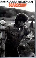 John Cougar Mellencamp Scarecrow 1985 Hard Classic Rock Roll Cassette Tape Pop