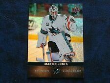 2019-20 19/20 Tim Hortons Base Card #94 Martin Jones San Jose Sharks