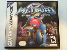 Metroid Fusion - GBA - Replacement Case - No Game
