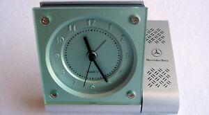 Mercedes Benz Drivers Line Classic Business Retro Travel Office Desk Alarm Clock