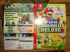 NO GAME OR BOX Nintendo Switch Mario Bros Deluxe promo Sleeve  shop display