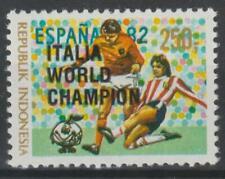Indonesia 1982 Scott #1177b Soccer World Cup - MNH