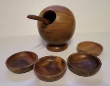 Round Globe Sphere Bowl With Spoon + 4 Bowls - A Price Import Philippines