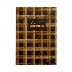 Rhodia Heritage Sewn Spine Composition Notebook - Tartan