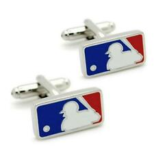 MAJOR LEAGUE BASEBALL CUFFLINKS Sports Logo MLB NEW w GIFT BAG Groom Wedding
