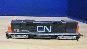 POWERED HO Mantua-Tyco Alco Century 430 Diesel Locomotive CN #4301 604604