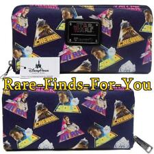 Disney Park Star Wars Han Solo Millennium Falcon Chewbacca More Loungefly Wallet