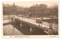 3193.-BILBAO -Puente de la Victoria (Enviada a Bolonia en 1949)(FOTO)