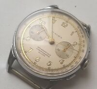 Mens Watch SUISSE 1950-60 Chronographe Antimagnetic Swiss Made
