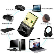 USB Bluetooth 5.0 Adapter Dongle Receiver Wireless Audio Music Stereo TV PC MAC