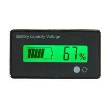 12V/24V/36V/48V 8-70V Lcd Acid Lead Lithium Battery Capacity Indicator Digital