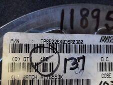(5 PER LOT) CAPACITOR TANTALUM 22uF 35V 10%  E-CASE SMD