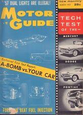 Motor Guide March 1957 Mercury, Dodge, A-Bomb 050917nonDBE