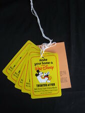 Walt Disney 8 MM Home Movies Poster Paper Work Booklet