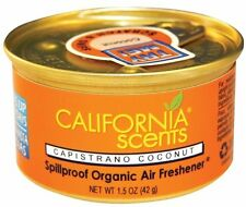 x3 California scents Home Car Texi Air Fresh Smell {Capistrano-Coconut}