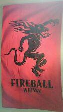 Fireball Whisky Beach Towel
