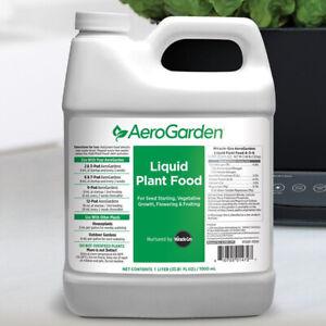 AeroGarden Hydroponic 1 Liter Liquid Plant Food Nutrients