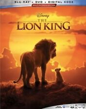 LION KING LIVE ACTION(BLU-RAY+DVD+DIGITAL)W/SLIPCOVER NEW SHIPS 10/22/19