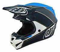 Troy Lee Designs SE4 POLYACRYLITE BETA WHITE / GRAY Helmet