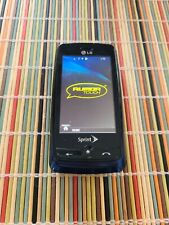 LG Rumor Touch LN510 Blue/Black Sprint Cellular Phone Basic Working