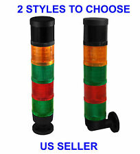 NEW Industrial Signal Tower Safety Alarm Light Stack With Horn Red Green &Yellow