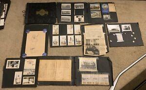 Vintage WWII Photo Album Navy Pensacola Hand Drawn Comics Sailors 170+ PICTURES