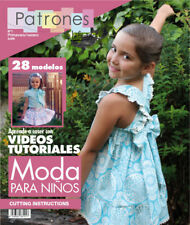SEWING MAGAZINE Patterns Book Summer baby girl boy toddler spanish clothing NEW