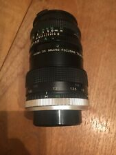 Canon FD 50mm f1.8 prime lens fits A1 AE1 AT1 T90 T60 Vivitar 2x Macro Zoom