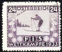 Austria 1933 Championship Fund violet 24g mint MNH SG700
