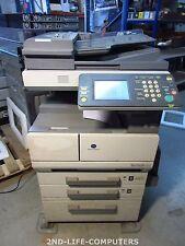 115591 PRINTS - Konica Minolta BIZHUB 250 USB NETWORK MFP Copier Scanner Printer