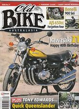 Kawasaki Z1 40th AJS 650 Forgotten 4cyl  Benelli 900Sei Tony Edwards OLD BIKE 31