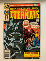 ETERNALS #1 - 9.4 to 9.6 NM Condition, Near-perfect 1st App of Eternals - MCU!