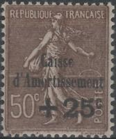 "FRANCE STAMP TIMBRE N° 267 b "" CAISSE AMORTISSEMENT VARIETE "" NEUF xx TTB K231"