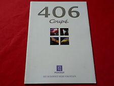 PEUGEOT 406 Coupe 2.0 Platinum 3.0 Platinum Prospekt von 1997