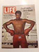 Life Magazine October 23 1970 Muhammad Ali Returns to the Ring VG