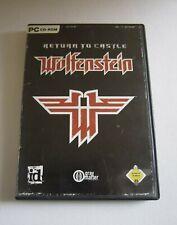 Return to Castle Wolfenstein - PC Spiel - CD Rom - selten
