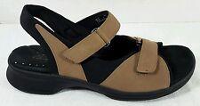 Clarks Womens Springers Leather Tan Sport Adjustable Sandals 11 Shoes Low Heel
