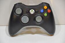 Official Genuine OEM Microsoft xbox 360 Wireless Controller Black