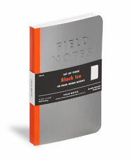 Field Notes COLORS Black Ice 3-Pack Memo Notebooks