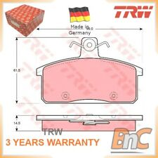 REAR DISC BRAKE PAD SET SUZUKI FOR IVECO SANTANA TRW 500028834 GDB3202 GENUINE