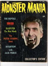 WoW! Monster Mania #1 / Dracula Prince Of Darkness! The Reptile! Peter Cushing!
