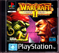 """PS1 - """" WarCraft II - The Dark Saga """" mit Anleitung & OVP ( komplett)"""