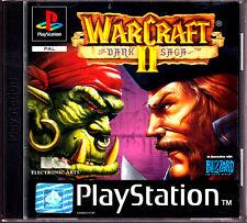 "Ps1 - ""warcraft II-the Dark saga"" avec mode d'emploi & OVP (complet)"