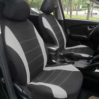 Car Seat Covers Full Set Universal Car Auto Interior Front Rear Seat Protector