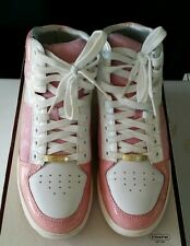 COACH ~ NORRA ~ HIGH TOP ~ WOMAN'S ~ FASHION SNEAKERS ~ SIZE 6.5 M ~ Pink