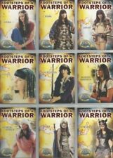 XENA  BEAUTY & BRAWN FOOTSTEPS OF A WARRIOR 9 CARD SET  FW1 TO FW9