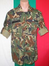 Bulgaria Army Airborne WOODLAND CAMOUFLAGE Pattern SHIRT + Paratrooper PATCHES